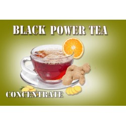 Konzentriertes Black Power Tea Aroma